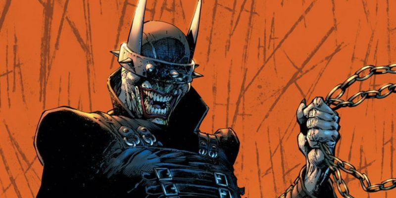 Justice League Batman che Ride Batman Who Laughs