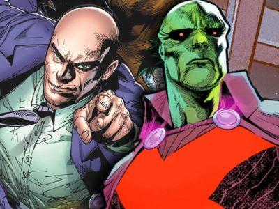 Justice League Lex Luthor Martian Manhunter Scott Snyder