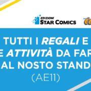 Edizioni star comics attività stand al comicon