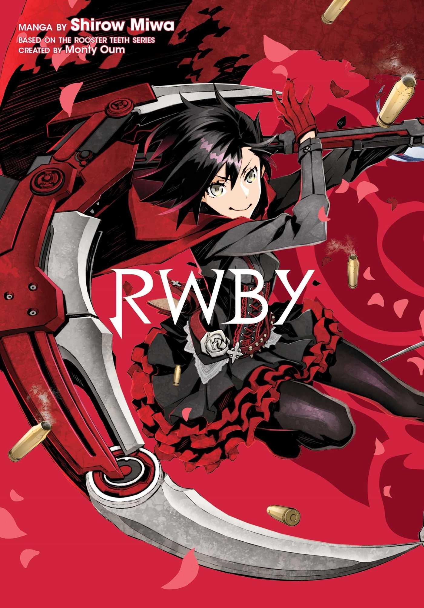 RWBY planet manga