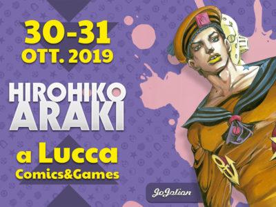 Hirohiko Araki Lucca Comics & Games